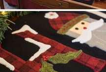 Wool Projects / Wonderful wool projects from Shabby Fabrics!