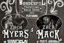 The weird and wonderful rock show with Zach Myers and Zack Mack!