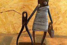 sculture ferro