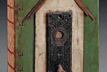 Altered Books & Journal Art & Handmade Books