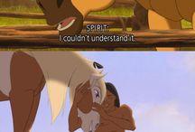 Spirit & Pocahontas / My childhood ❤❤