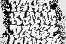 Graffiti alfabetten