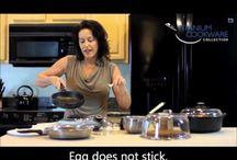 Videos: Cookware Performance / Titanium Cookware: how to use it, how it performs