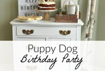 Puppy Party Ideas / Puppy dog party ideas. Invitations, menu ideas, puppy party decor, puppy sources, pound puppy party. Adopt a pet party.