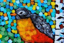Minnesota Song Bird Paintings