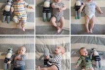 ideias de foto para bebês
