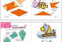 Vízi világ origami