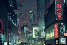 Cyberpunk mood