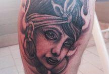 Sandro Ubt tattoo / Tattoo by Sandro Ubt  Info/booking ale.amaru@hotmail.it Facebook: www.facebook.com/skizo.pesaro