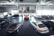 Custom Garage interior