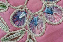 romanian and irish point lace crochet