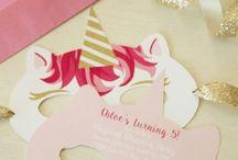 Birthday Unicorn ☆ Anniversaire licorne