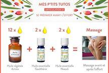 huile essentielle articulation