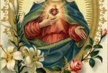 Virgen María del sagrado corazón