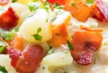Recipes - Soups ,Stews, & Chowders