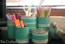 Organizing / by Tisha K.
