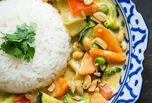 Asiatisches/ Indisches Essen