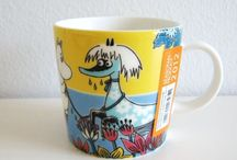 Moomin mugs / The ones that I own