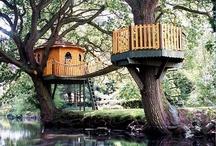 tree houses/play houses
