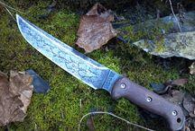 bushcraft, nože...