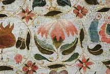 embroidery 17th century