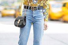 jeans frange
