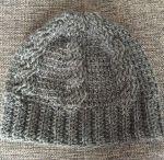ニット帽 編み図 かぎ針