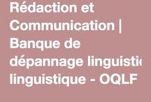 Rédaction et Communication