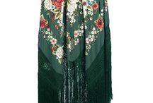 Capas  kimonos xales