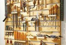 Werkzeug Wand
