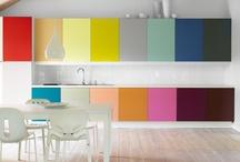Kitchen Design / Gorgeous backsplashes, islands & color in the kitchen