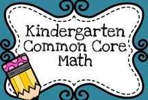 Kindergarten Math {Common Core} / This board is for Kindergarten math resources that are aligned with the Common Core. Please only pin one paid resource per day, or you will be removed.  If you're interested in pinning to this board, please follow and send an e-mail to mrsroltgen (at) gmail (dot) com.  Thanks! / by Resources by Mrs. Roltgen