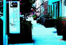 hoods old and new / Paris, Philadelphia, Los Angeles, San Francisco, Charlottesburg, Greenpoint (BK)