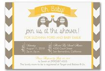 Baby, Baby, Baby - Invitations & Announcements