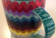 Painting mug with nail polish / Painting mug with nail polish