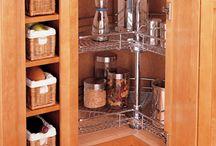 Reorganizing the kitchen