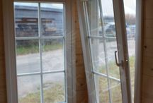 Quality Log Cabin Windows and Doors / Log Cabins LV offers the only certified windows and doors in the Cabin industry!