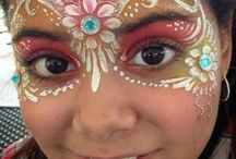 Facepainting - Inspiration to paint / May Challenge by Abby Ascencio - Facebook ‼️Pins are added and changed name on only to be used as inspiration in a Facebook Challenge!‼️