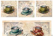 Kawa, herbata i czekolada