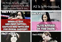 Facts about AJ Lee