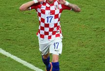 "Nek' jače kuca to srce VATRENO! / It all started in 2012 with Mario Mandžukić. But he's not only Croatian player I love. I adore whole Croatia NT. I can't describe my feelings about it, it's MY TEAM. Even though I'm Polish, my heart beats faster only when THEY are on the pitch. And I am sure I'll stay with them till the end of my life.  // Najdraža reprezentacija ikada. Nije važno što sam Poljakinja, ne mogu ja protiv srca svog.  ""Igrajte za nju, našu voljenu, nek' jače kuca to srce VATRENO!"""