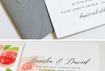 Letters/invites / by Morgan Harrison