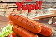 Yupi! / ✔️ Yupi!, Νέα σειρά από λουκάνικα σε δυο γευστικές προτάσεις που ξετρελαίνουν!  Λουκάνικα από κοτόπουλο και γαλοπούλα με λιωμένο τυρί και με λιωμένο τυρί και μανιτάρια ➡ Ψητό σε τηγάνι ή πλάκα ψησίματος σε 3 λεπτά, ή σε νερό που βράζει για περίπου 5 λεπτά. Η νέα σειρά Yupi! της εταιρείας ΕΚΛΕΚΤΑ ΑΛΛΑΝΤΙΚΑ ΠΑΝΤΕΡΗ! #Εκλεκτά_Αλλαντικά_Παντέρη #Yupi! #νέασειρά #λουκάνικα