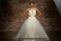 Bridal Fashion Week Spring 2014 / Screenshots from the streaming broadcast at theknot.com/fashion.
