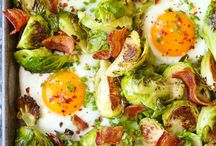 bacon and eggs dishes