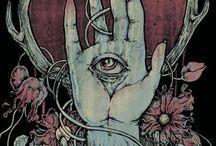band poster art