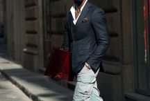 Pour un homme élégant / Men's clothing trends grooming style jewelry and more / by Peri Collins