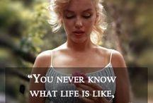 Marilyn Monroe. X