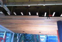 Tarima de madera en exteriores para vivienda particular / Tarima de madera en exteriores