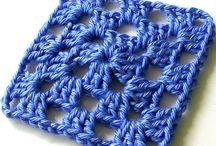 Granny square au crochet